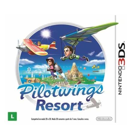 Jogo Pilotwings Resort para Nintendo 3DS - DSPILORESORT