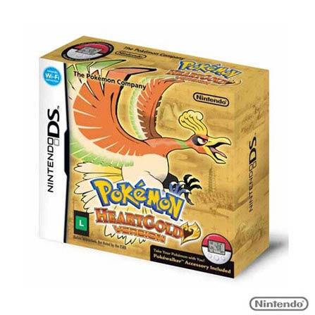 Jogo DS Pokemon Heartgold V., GM, RPG, RPG, Nintendo 3DS