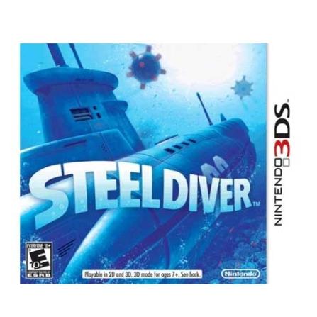Jogo Steel Diver para Nintendo 3DS - DSSTEELDIVER