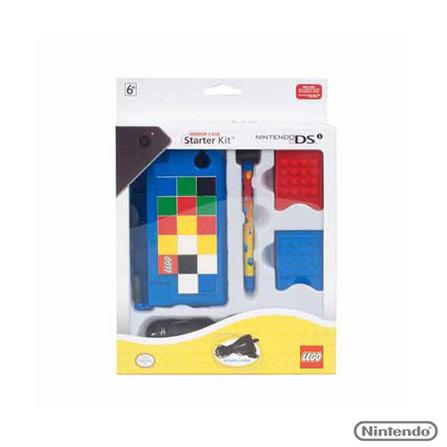 Case Azul Lego Armor Starter para Nintendo DSI, Azul, Capas, Cases e Mochilas, Nintendo DSi, 03 meses