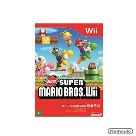 Jogo New Super Bros Bros para Wii, GM, Aventura