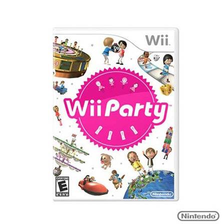 Jogo Wii Party para Nintendo Wii, Não se aplica, Nintendo Wii, Aventura, DVD, Livre, Não especificado, Não especificado, 03 meses