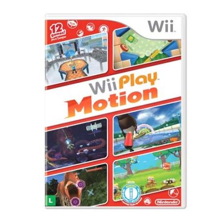 Jogo Play Motion para Wii - Nintendo - WIPLAYMOTION