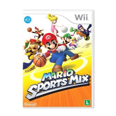 Jogo Mario Sport Mix para Wii - Nintendo - WISPORTMIX