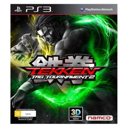 Jogo Tekken Tag Tournament 2 PS3, Não se aplica, PlayStation 3, Luta, Blu-ray, 12 anos, Não especificado, Não especificado, 03 meses