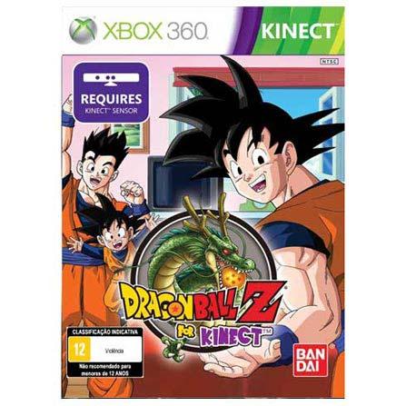 Jogo Dragon Ball Z para XBOX 360