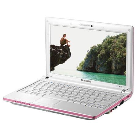 Netbook NC10 Rosa com Processador Intel® Atom N270 / 1GB / HD 160GB / Tela 10.1