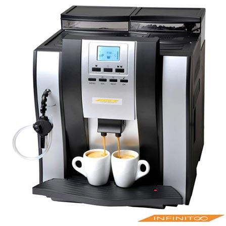 Máquina de Café Espresso Automática Merol 709 Infinito com 20 Bar de Pressão, 110V, 220V