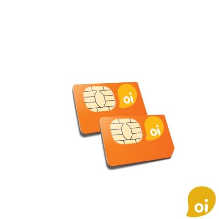 Chip Pré-Pago Duo (Pack com 2 Chip) / DDD 11 - Oi