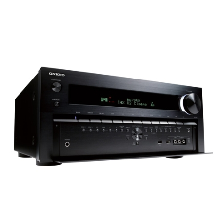 Receiver Onkyo NR3009 9.2 Canais com Potência de 1260W, Compatível com Tecnologia 3D e USB Frontal