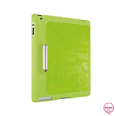 Capa Folio Origame Verde para iPad 3 e 4 Ozaki, Verde