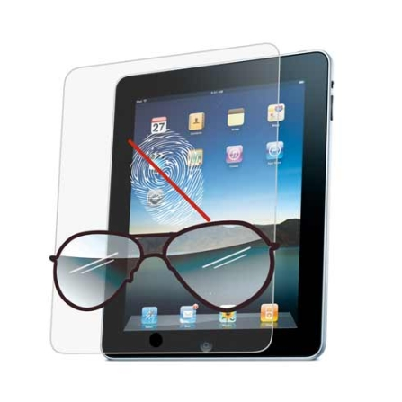 Película Anti-Reflexo e Anti-Digital Incolor iCoat para iPad - Ozaki - IC831, Não se aplica