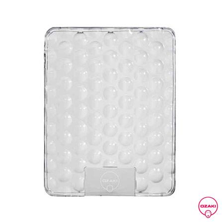 Capa Protetora TPU Bubble Transparente para iPad 1 - Ozaki - IC832B, Não se aplica