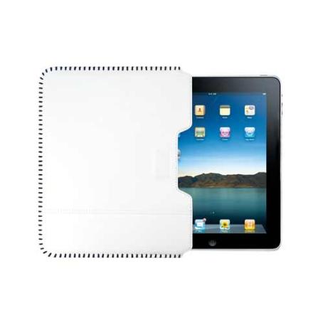 Capa Sleeve Protetora de Couro Sew Branco para iPad - Ozaki - C838WH, Branco