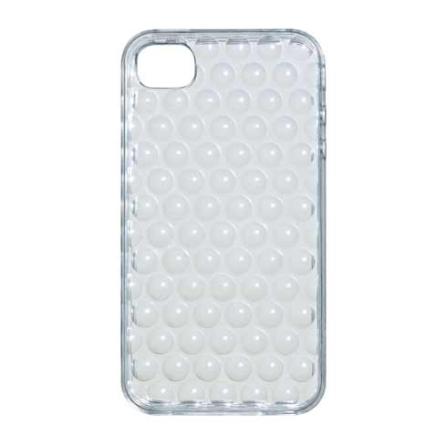 Capa Protetora iCoat Square Transparente para iPhone 4 - Ozaki - IC842CTR, Não se aplica, 06 meses