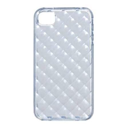Capa Protetora iCoat Square Transparente para iPhone 4 - Ozaki -IC842SSL, Não se aplica, 06 meses