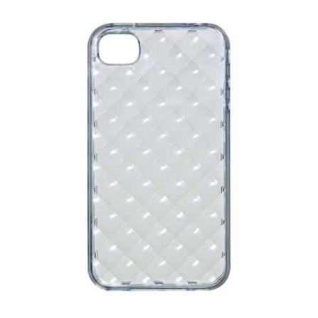 Capa Protetora iCoat Square Transparente para iPhone 4 - Ozaki - IC842STR, Não se aplica, 06 meses