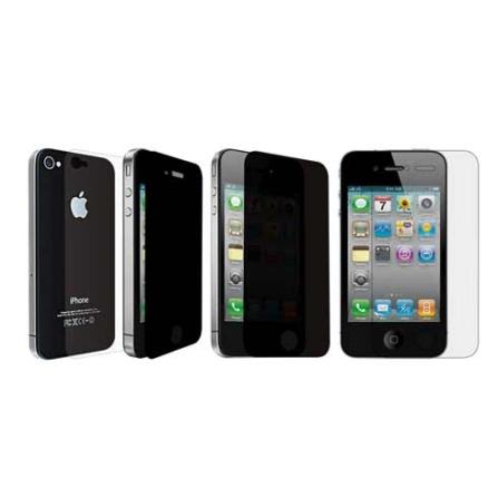 Película Protetora iCoat Privacy Incolor para iPhone 4 - Ozaki - IC846, Não se aplica, 06 meses