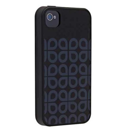 Capa Protetora de Silicone Fortitude Preto para iPhone 4 - Ozaki - IC848FO, 06 meses