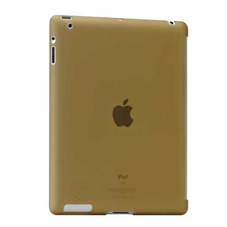 Capa Protetora de Plástico Fosco Marrom para iPad2 - Ozaki - IC897TN