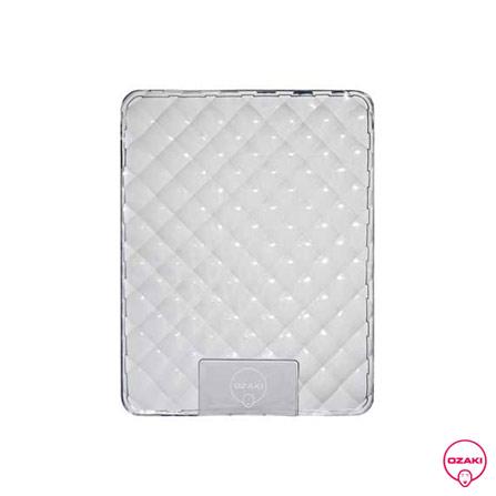 Capa Protetora Transparente para iPad - Ozaki, Não se aplica