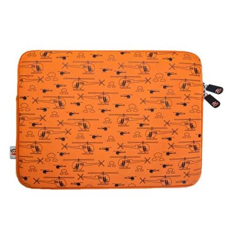 Capa Sleeve Helicopter para MacBook 13