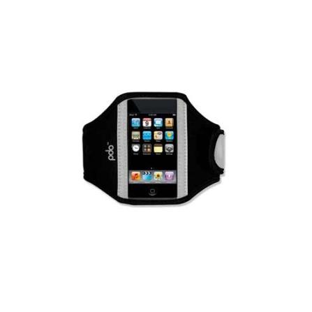 Braçadeira Sporteer Preto para iPhone 3G, iPhone4 e iPod Touch - PDO - IP5SPORTR