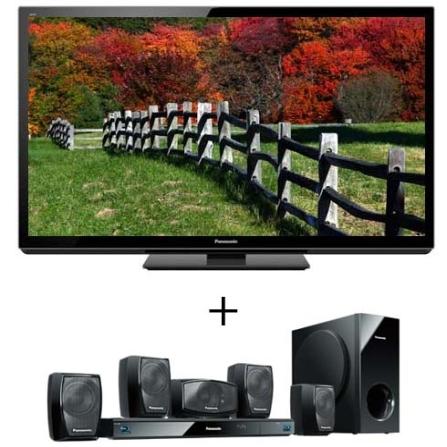 TV Plasma GT30B 42'' + Home Theater Panasonic