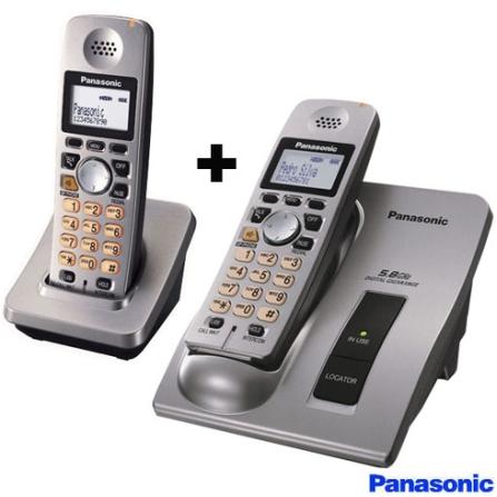 Telefone sem fio 5.8GHZ  + Ramal sem Fio 5,8GHz
