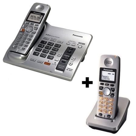 (Fim Promo) Telefone sem Fio 5.8GHZ com Secretária Eletrônica / Expansível até 4 Ramais com Identificador de Chamadas +