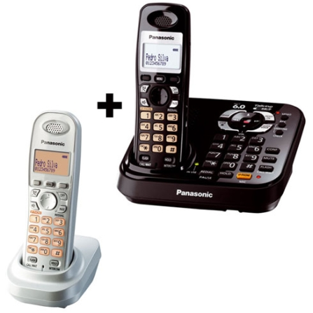 Telefone sem Fio c/ Identificador+ Ramal Panasonic
