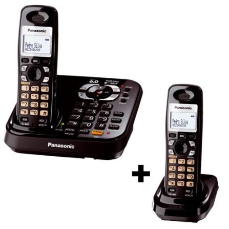 Telefone sem Fio 1.9GHZ + Ramal sem Fio Panasonic