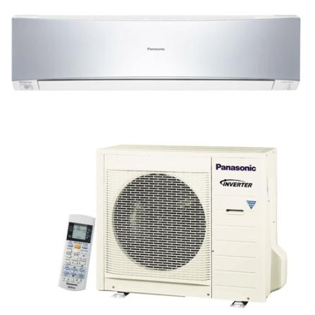 (Ver estoque) Condicionador de Ar Split Inverter 22000Btus / Eletronico / Frio / Resfriamento Rapido / Prata - Panasoni
