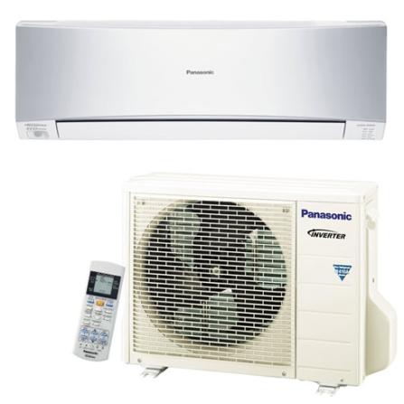 Condicionador de Ar Split  Inverter 9000Btus / Eletrônico / Frio / Resfriamento Rápido/ Prata - Panasonic - CUS9KKQ7, 220V, LA, 9.000 BTUs, Split, 9.000 a 11.500 BTUs