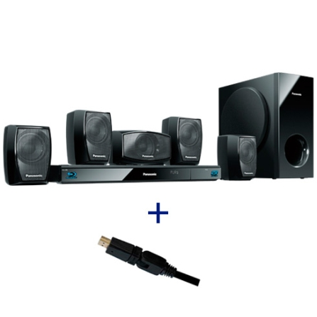 Home Theater Blu-ray conversão 2D p/ 3D Panasonic