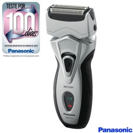 Barbeador a Seco e Molhado com 3 Cabeças / Cabeça flexível / Lâmina mais afiada / Design Ergonômico - Panasonic - ES7101