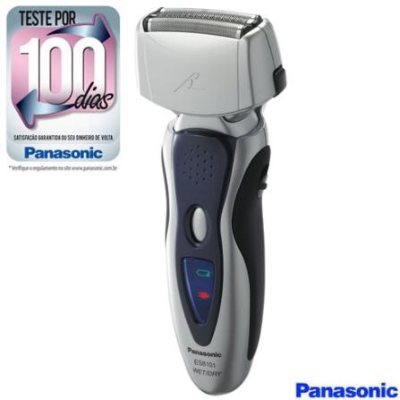 Barbeador a Seco e Molhado com 3 Cabeças / Nano borda extra-fina / Arco multiajustável / Motor Linear - Panasonic - ES8101S581