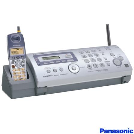 Fax com Telefone sem Fio de 2.4Ghz Panasonic