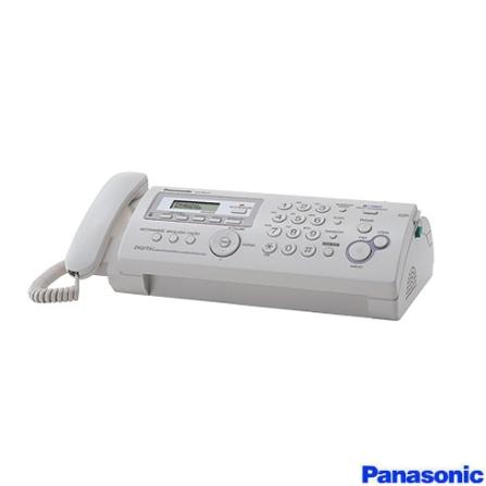 Fax Papel Plano, Secretetária Eletrônica Panasonic, 110V, Branco