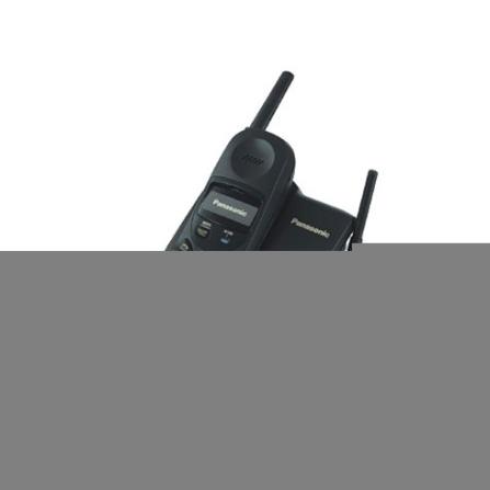 Telefone sem Fio 900Mhz - Panasonic - KXTC1468LBB