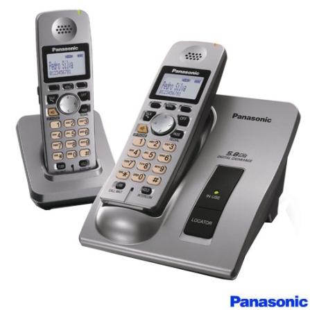 Telefone sem Fio 5.8GHZ + Ramal sem Fio Panasonic