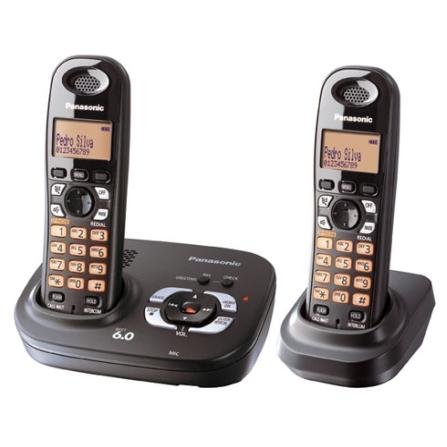 Telefone sem Fio 1.9GHZ com Secretária Panasonic