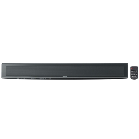 Home Theater Soundbar 120W RMS / Clear-mode Dialogue / Avançado Cone de Bambu / 1 Entrada HDMI / Preto - Panasonic - SCHTB10PHK