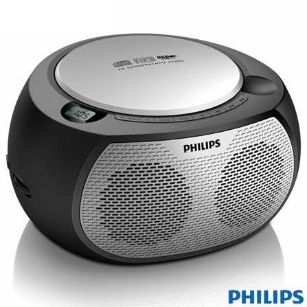 Som Portátil Philips com USB e MP3 Link - AZ380SX/78