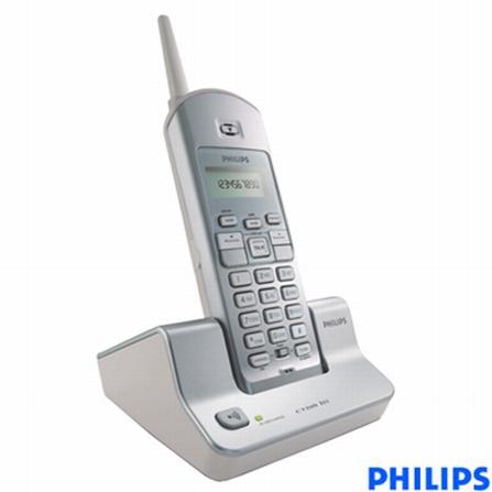 Telefone sem Fio 900MHz com Identificador de Chamadas Philips - CTNM121_1S78