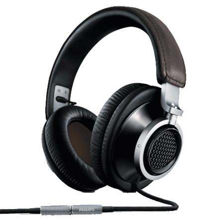 Fone de Ouvido Preto com Alça Over - Ear - Philips - FIDELIOL1