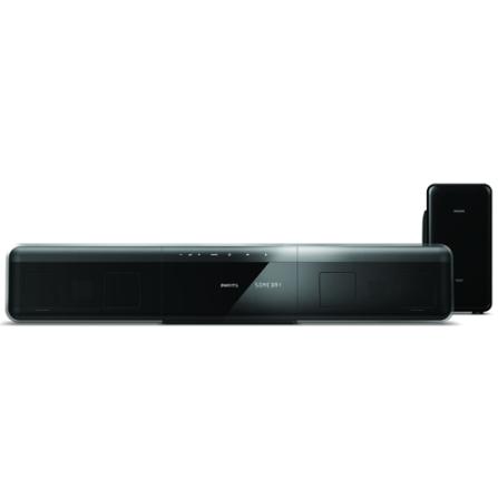 Home Theater Soundbar Ambisound com Potência de 280W RMS / Dolby Virtual Speaker / Tela Sensível ao Toque / Imagens em H