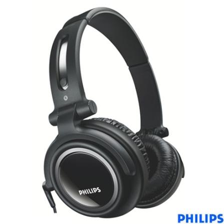 Fone de Ouvido Headband Dj Style - Philips - SBCHP460_00, Preto, Headphone, 06 meses