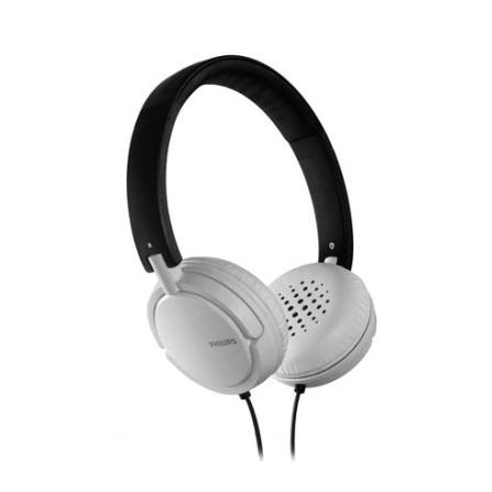 Fone de Ouvido Philips com Alca Preto e Branco, Branco e Preto, Intra-auricular, 06 meses