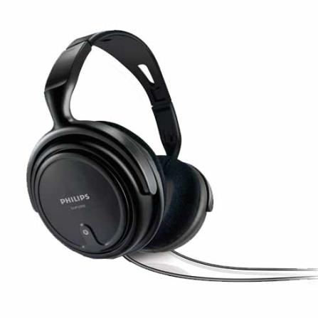 Fone de Ouvido Preto Headband - Philips - SHP2000